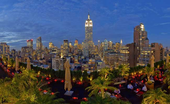 New York roof garden