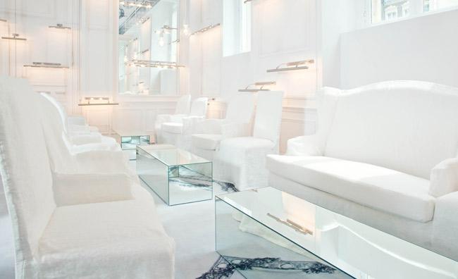 Salon Blanc Maison Champs Elysees