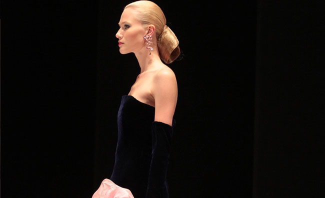 Le rose d'alta moda di Renato Balestra