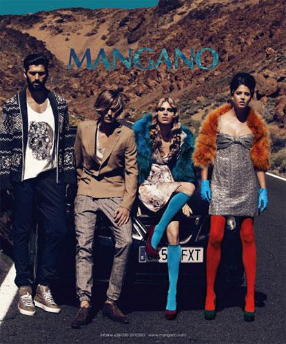 Campagna Stampa Mangano Autunno Inverno 2011 2012