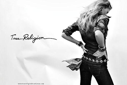 Campagna Stampa True ReligionAutunno Inverno 2011 2012