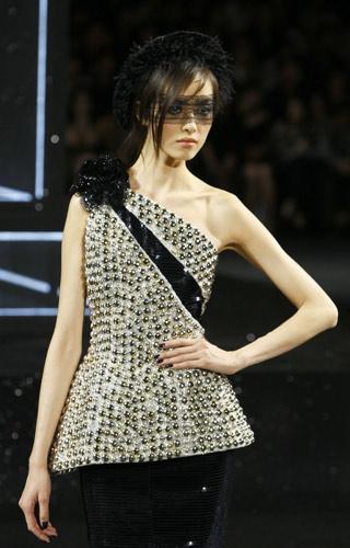Completo monospalla Chanel Autunno Inverno 2011 2012