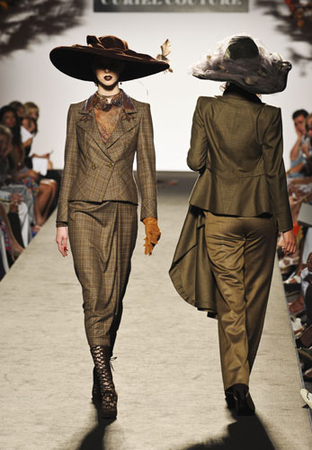 tailleur  Raffaella Curiel Autunno Inverno 2011 201