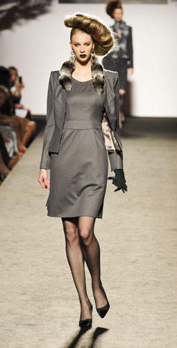 Completo grigio  Raffaella Curiel Autunno Inverno 2011 201
