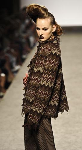 Giacca di lana lavorata  Raffaella Curiel Autunno Inverno 2011 201