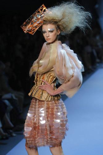 Gonna con macro paillettes Dior Autunno Inverno 2011 2012