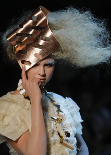 Corpicapo in rame Dior Autunno Inverno 2011 2012