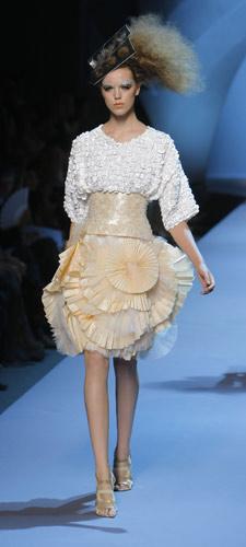 Gonna Dior plissettata Autunno Inverno 2011 2012