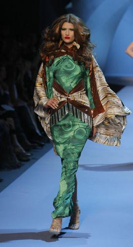 Abito lungo Dior Autunno Inverno 2011 2012
