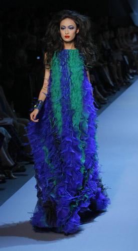 Abito lungo Christian Dior Autunno Inverno 2011 2012