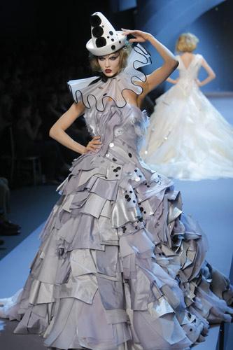 Abito pierrot Dior Autunno Inverno 2011 2012