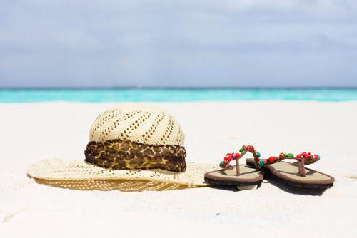 Sandali e spiaggia
