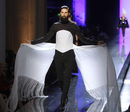 L'uomo di Paul Gaultier Autunno Inverno 2011 201