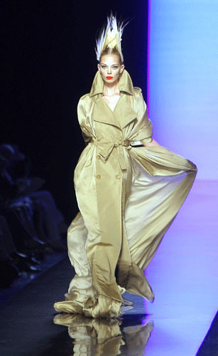 Trench Paul Gaultier Autunno Inverno 2011 201