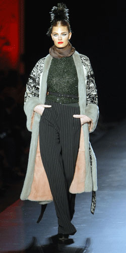Cappotto Paul Gaultier Autunno Inverno 2011 201