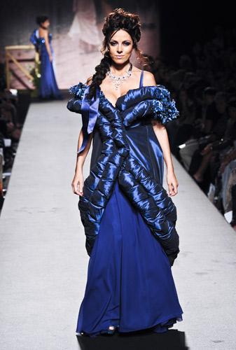 Piumino Scuola di moda Ida Ferri, Autunno Inverno 2011 2012