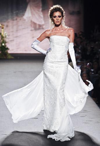 Velo da sposa Scuola di moda Ida Ferri, Autunno Inverno 2011 2012