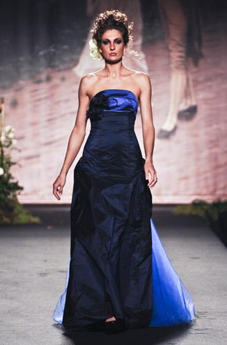 Sposa blu Scuola di moda Ida Ferri, Autunno Inverno 2011 2012