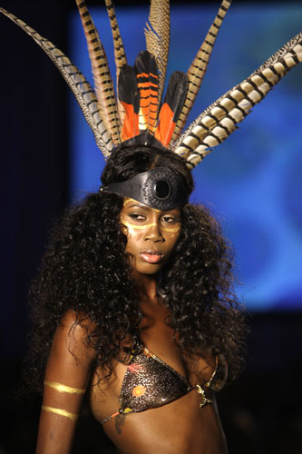 Bikini tribale Lisa Blue Primavera Estate 2012