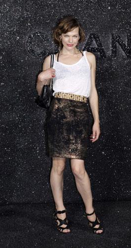 Milla Jovovich da Chanel