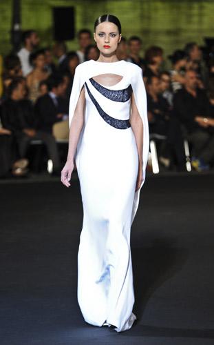 Stile peplo Fausto Sarli Autunno Inverno 2011 2012