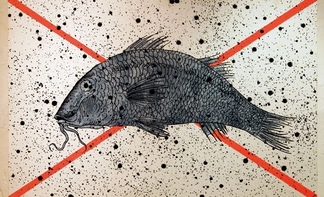 Nicola Villa artista per le strade di Monteggiori