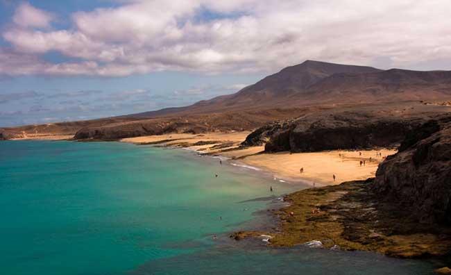 Lanzarote dall'alto
