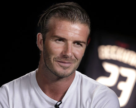 David Beckham calciatore Galaxy