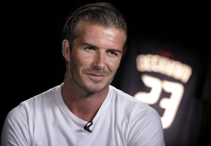 David Beckham diventa stilista per H&M