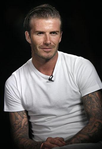 David Beckham intervista