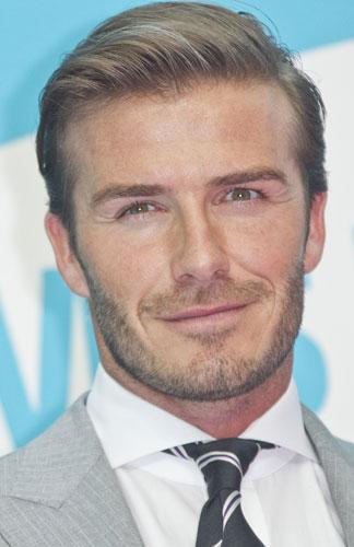 David Beckham photocall