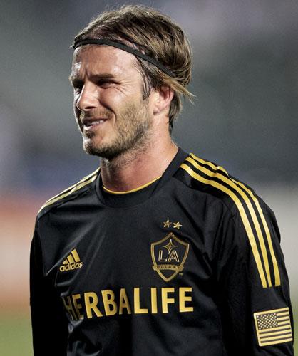 David Beckham in campo