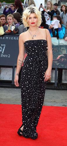 Pixie Geldof  in Dolce&Gabbana