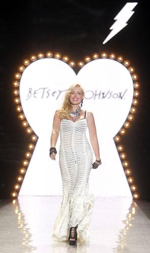 Betsey Johnson vestito bianco
