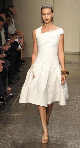 Donna Karan abito bianco
