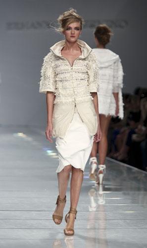 Ermanno Scervino: Cappotto Bianco - Gonna Bianca