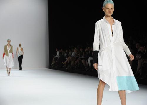 Narciso Rodriguez abito bianco