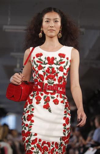 new concept 2a4ce a0fb5 Vestito a fiori rosso – Abiti in pizzo