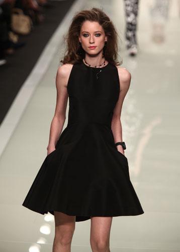Roccobarocco: abito nero