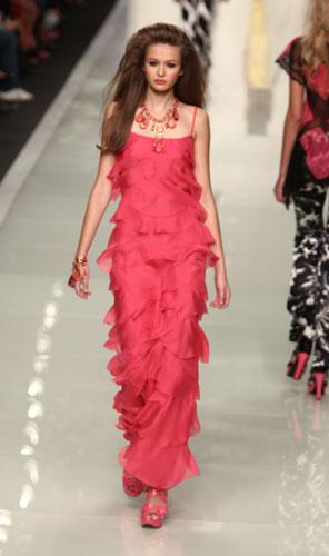 Roccobarocco: abito rosa