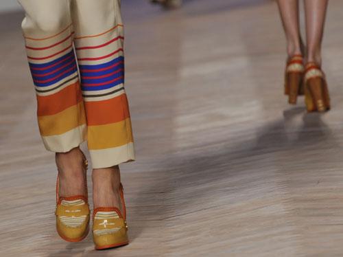 Tommy Hilfiger pantalone righe colorato