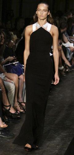 Victoria Beckham abito lungo nero