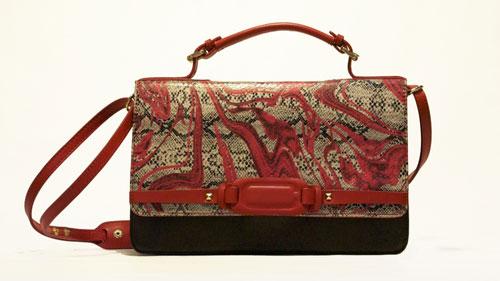 Custo Barcelona borsa rossa