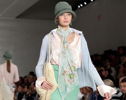 Ralph Lauren: foulard fiori