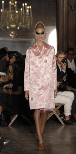 Rochas cappotto rosa