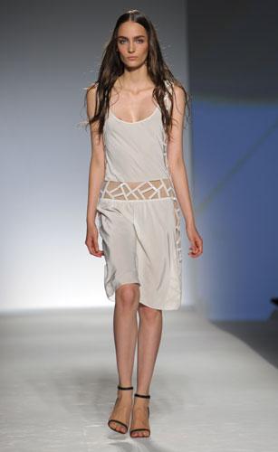 Alberta Ferretti: Top Bianco - Pantaloni Bianco