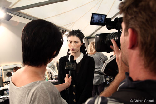 Intervista ad una modella