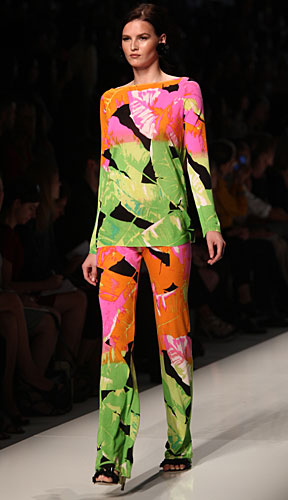 Blumarine: maglia - pantalone stampe