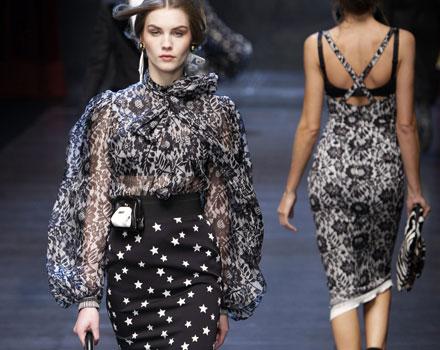Camicia Dolce&Gabbana Autunno Inverno 2011 2012