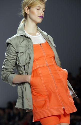 Richard Chai abito arancio
